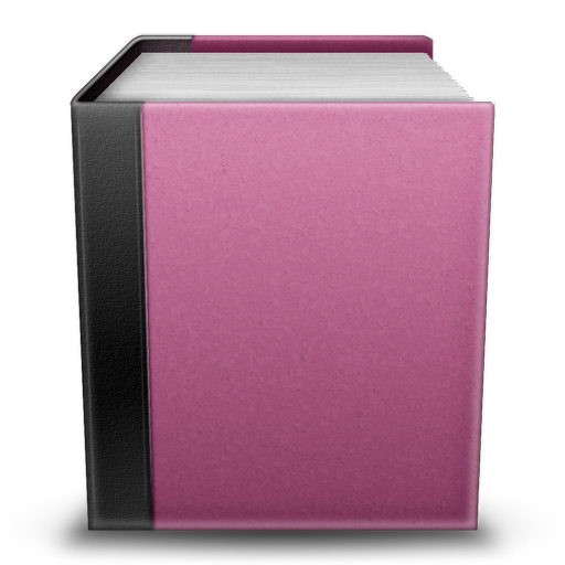Pink Book Icon 512x512 png