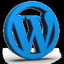 Colored WordPress Icon