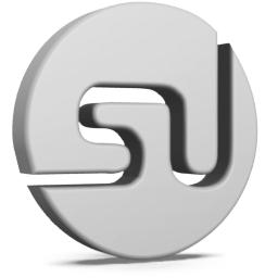 Grey StumbleUpon Icon 256x256 png