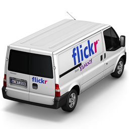 Flickr Back Icon 256x256 png