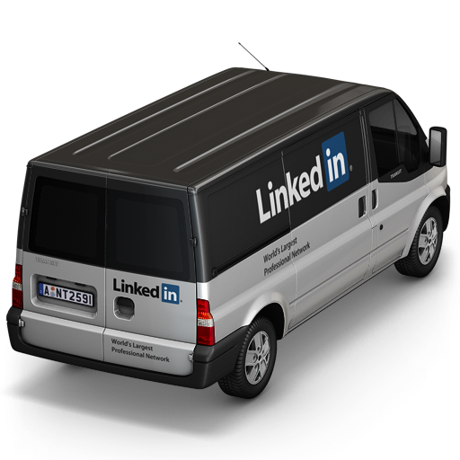 LinkedIn Back Icon 512x512 png