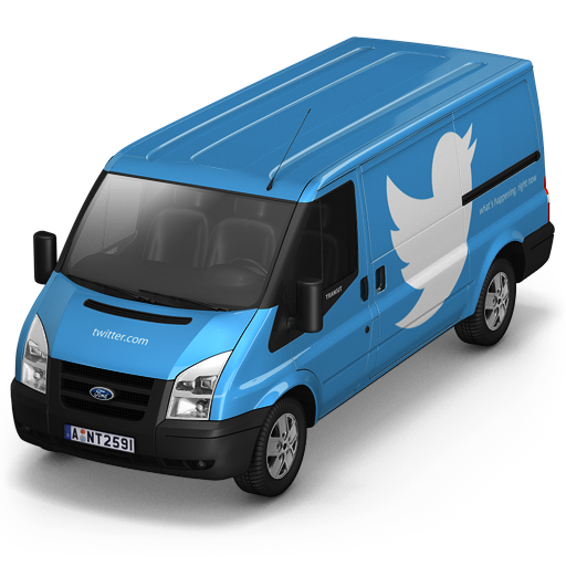 Twitter Front Icon 512x512 png