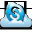 Skype Icon 64x64 png