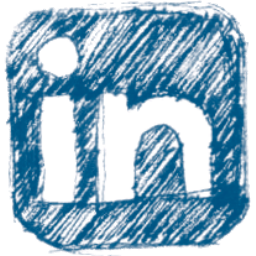 LinkedIn Pen Icon 256x256 png