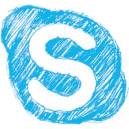 Skype Pen Icon 256x256 png