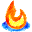 Colored Pencil Web Icons