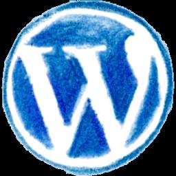 WordPress Pencil Icon 256x256 png