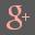 Google Plus Grey Icon 32x32 png
