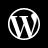 WordPress White Icon