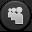 Myspace Dark Icon 32x32 png