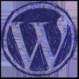 WordPress Icon 155x155 png