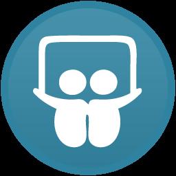 SlideShare Light Icon 256x256 png