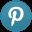 Pinterest Light Icon 32x32 png