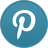 Pinterest Light Icon