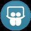 SlideShare Light Icon 64x64 png