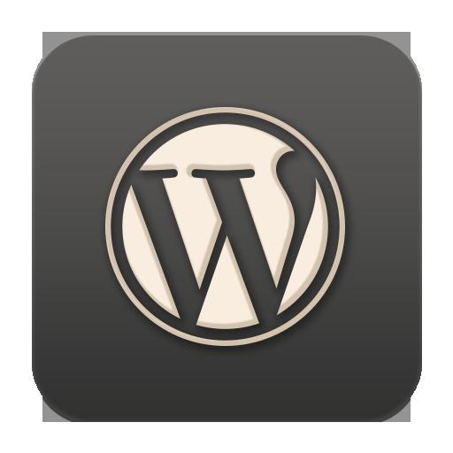 WordPress Icon 512x512 png