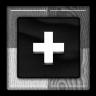 Grey Google Plus Icon 96x96 png