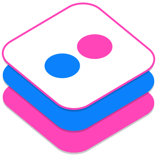 Flickr v2 Icon 512x512 png