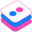 Flickr v2 Icon 64x64 png
