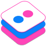 Flickr v2 Icon 96x96 png