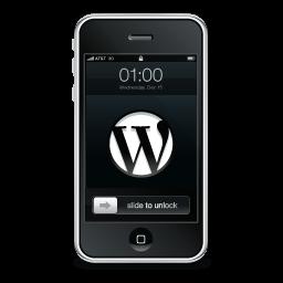 WordPress Black Icon 256x256 png