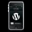 WordPress Black Icon 64x64 png