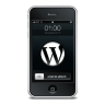 WordPress Black Icon 96x96 png