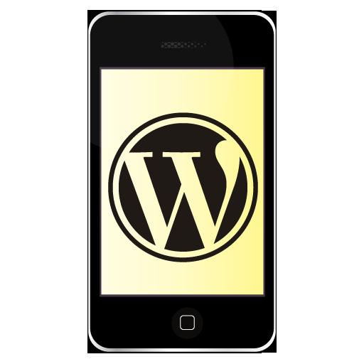 iPhone WordPress Icon 512x512 png