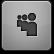 Black Myspace Icon