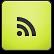 Limegreen RSS Icon