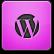 Pink WordPress Icon