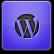 Purple WordPress Icon