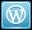 Shadowless WordPress Icon