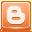 Shadowless Blogger Icon