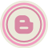 Blog Pink Icon 48x48 png
