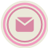 Email Pink Icon 48x48 png