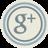 Google Plus Blue Icon 48x48 png