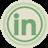LinkedIn Green Icon 48x48 png