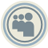 Myspace Blue Icon 48x48 png