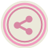 ShareThis Pink Icon 48x48 png