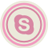 Skype Pink Icon 48x48 png