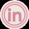 LinkedIn Pink Icon