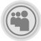 Myspace Grey Icon
