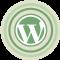 WordPress Green Icon