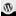 WordPress Icon 16x16 png
