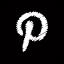 Pinterest Black Icon 64x64 png