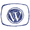 Social Bookmark Sketchy Icons