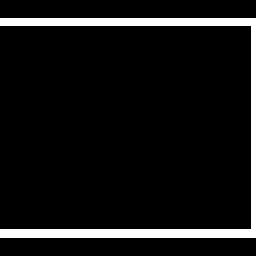 Black WordPress Icon 256x256 png