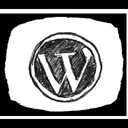Bw WordPress Icon 256x256 png