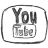 Bw YouTube Icon 48x48 png